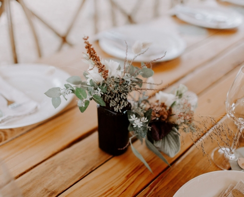 Margaret River Retreat Wedding Setup